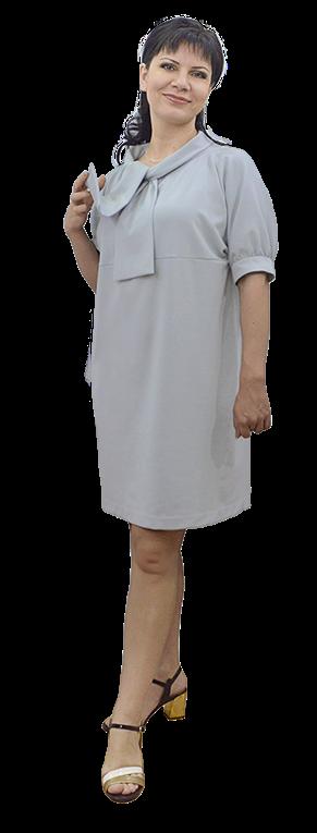Платье без выкройки из джерси