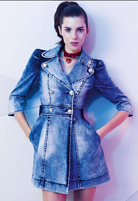 джинсовое платье Gizia