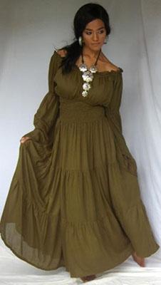 платье из батиста