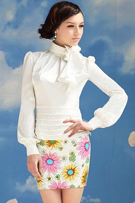 блуза из синтетического волокна