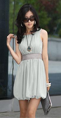 платье из синтетического волокна