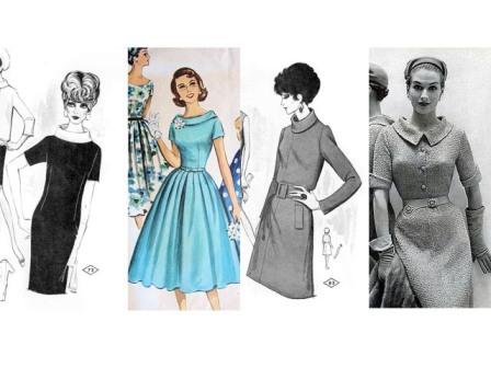 Как выкроить и вшить воротник хомут в платье или блузу
