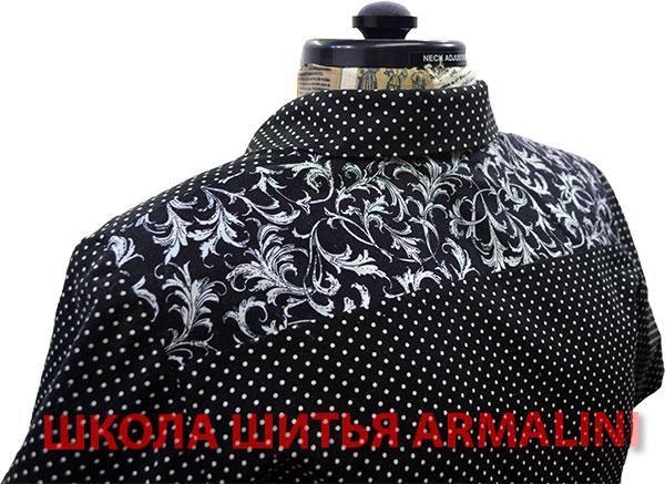 кокетка блузы