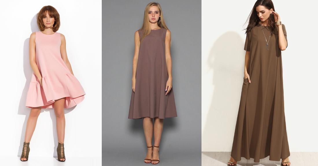 Платье-трапеция. Моделирование