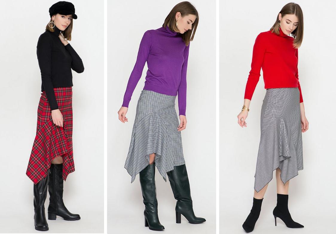 Моделирование юбки с асимметрией