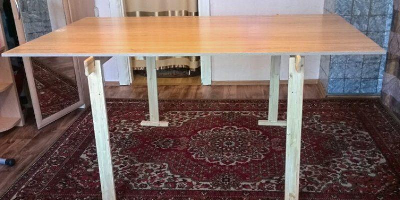 Разборный раскройный стол Татьяны Петровой (г.Красноярск)